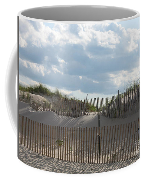 Sand Coffee Mug featuring the photograph Sand Dune by Christiane Schulze Art And Photography