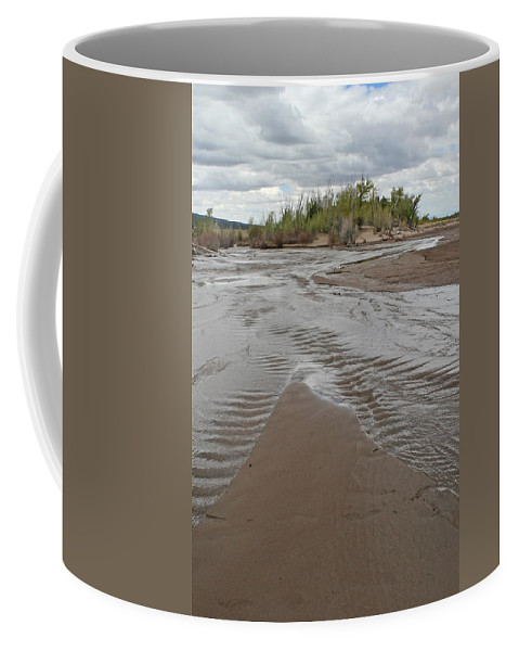 Sand Dunes Coffee Mug featuring the photograph Sands Dunes National Park by Shirley Roberson