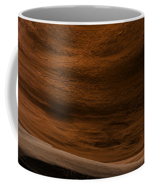 Sandstone Coffee Mug featuring the photograph Sandstone Flow by Chad Dutson