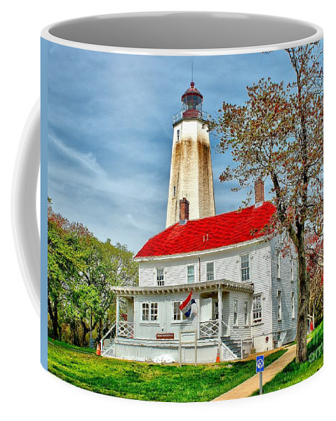 Architecture Coffee Mug featuring the photograph Sandy Hook Spring by Nick Zelinsky