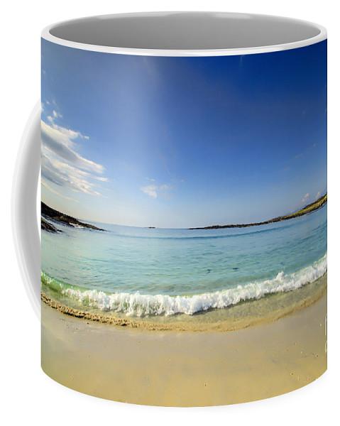 Beach Coffee Mug featuring the photograph Sanna Bay Ardnamurchan Peninsula by Chris Thaxter