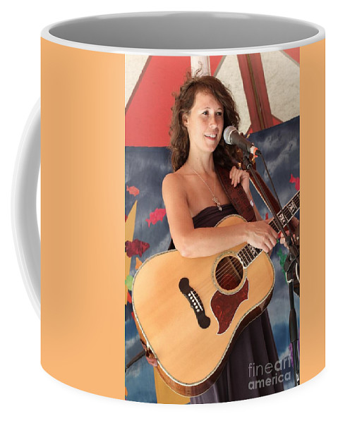 Concert Photos For Sale Coffee Mug featuring the photograph Sarah Lee Guthrie by Concert Photos