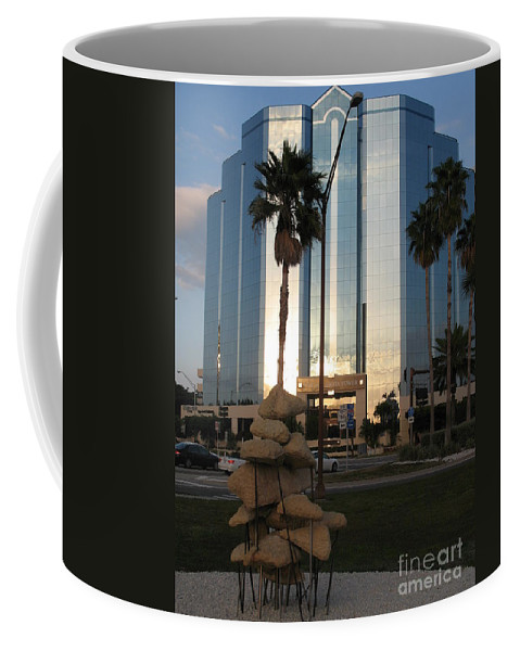 Art Coffee Mug featuring the photograph Sarasota Waterfront - Art 2010 by Christiane Schulze Art And Photography