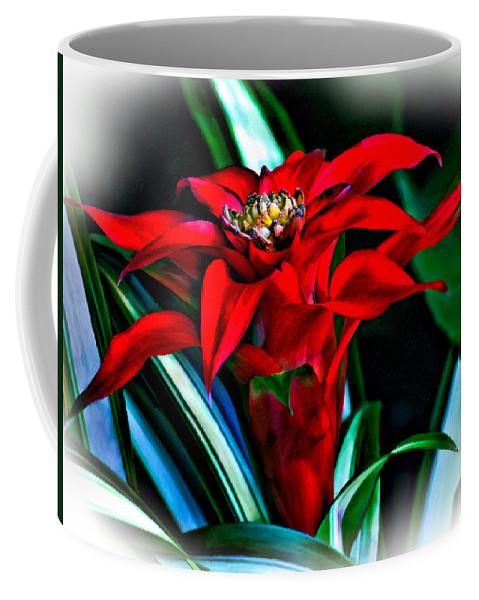 Red Coffee Mug featuring the photograph Sassy Girl 2 by Steve Harrington