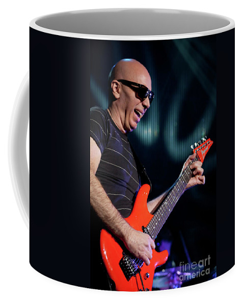 Joe Satriani Coffee Mug featuring the photograph Satriani 3342 by Timothy Bischoff