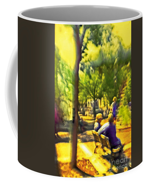 People Coffee Mug featuring the photograph Saturday Afternoon by Madeline Ellis