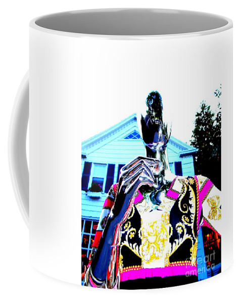 Mannequins Coffee Mug featuring the digital art Saturday Evening by Ed Weidman
