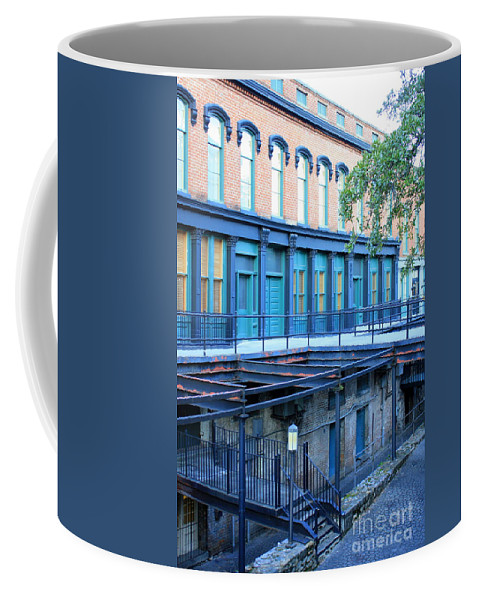 Savannah Coffee Mug featuring the photograph Savannah Blues by Carol Groenen