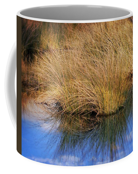 Grass Coffee Mug featuring the photograph Sawgrass by Marty Koch