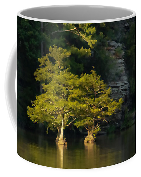 Beavers Bend Coffee Mug featuring the photograph Scenic Beavers Bend by Kim Henderson
