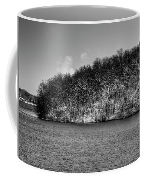 Fox River Coffee Mug featuring the photograph Scenic Morning On The Fox River by Thomas Young
