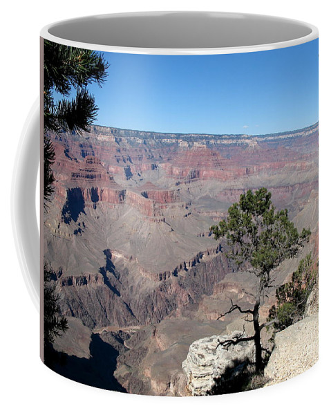 Grand Canyon Coffee Mug featuring the photograph Scenic View - Grand Canyon by Christiane Schulze Art And Photography