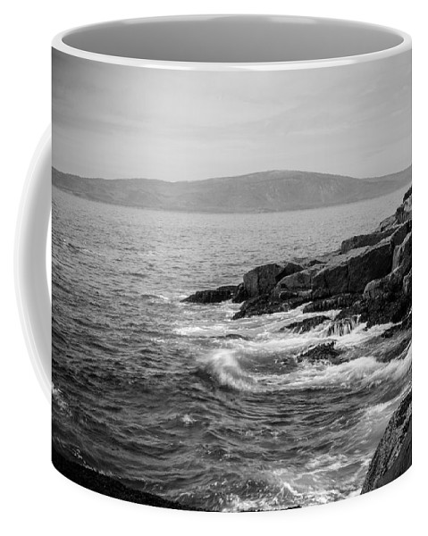 Acadia Coffee Mug featuring the photograph Schoodic by Kristopher Schoenleber