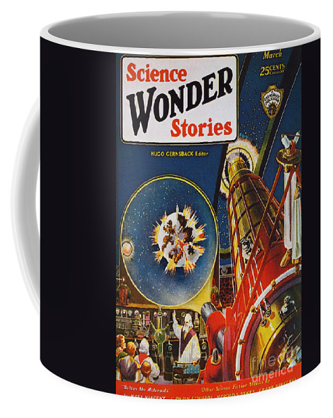 1930 Coffee Mug featuring the photograph Sci-fi Magazine Cover, 1930 by Granger