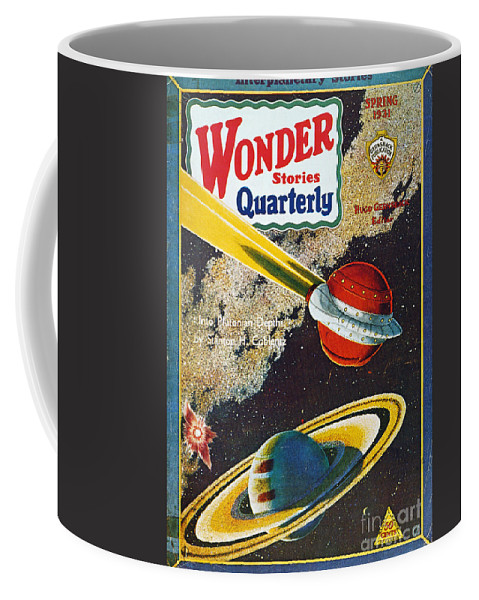 1931 Coffee Mug featuring the photograph Science Fiction Cover, 1931 by Granger