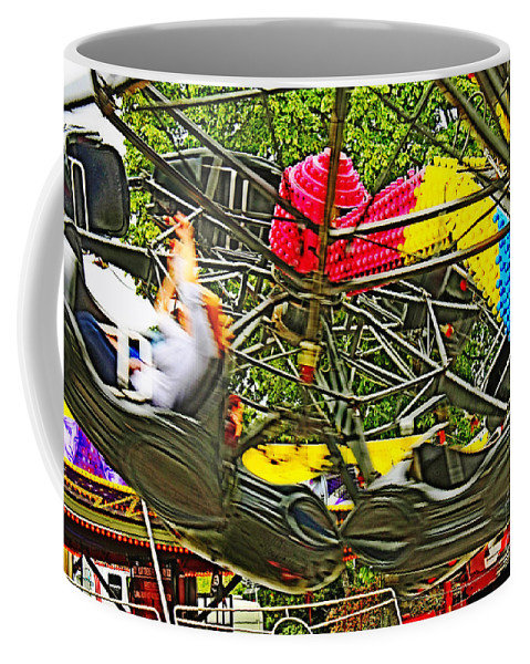 Tristar Coffee Mug featuring the photograph Scream If You Want To Go Faster by Terri Waters