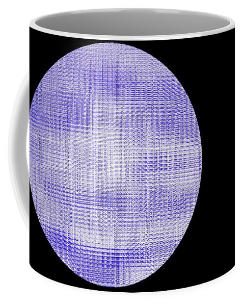 Window Coffee Mug featuring the photograph Screen Orb-08 by Larry Jost