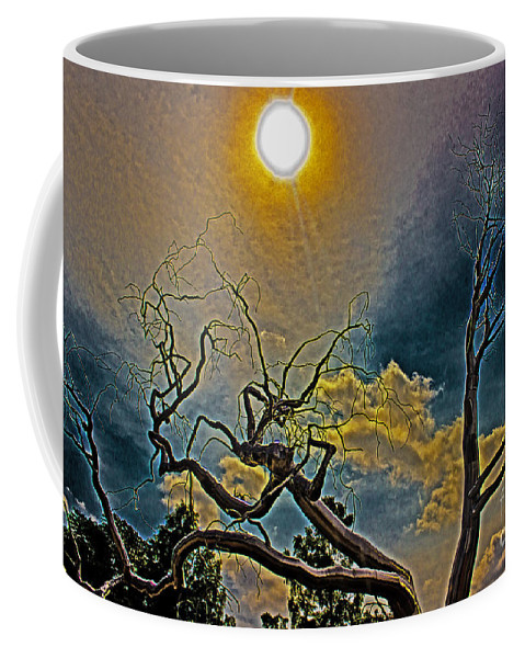 Outdoors Coffee Mug featuring the photograph Sculpture In The Sun by Tom Gari Gallery-Three-Photography
