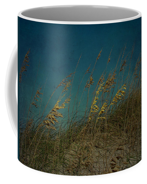 Sea Oats Coffee Mug featuring the photograph Sea Oats And Storms by Mother Nature