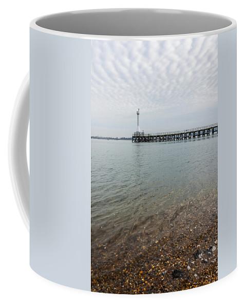 Bay Coffee Mug featuring the photograph Sea Shore by Svetlana Sewell