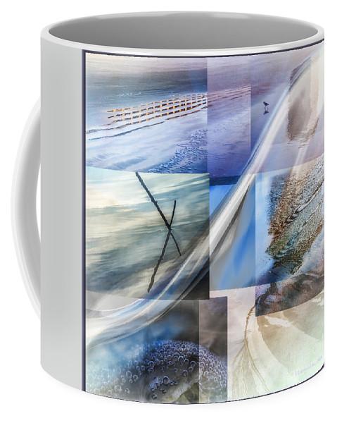 Sea Coffee Mug featuring the digital art Sea Water Art by Georgianne Giese