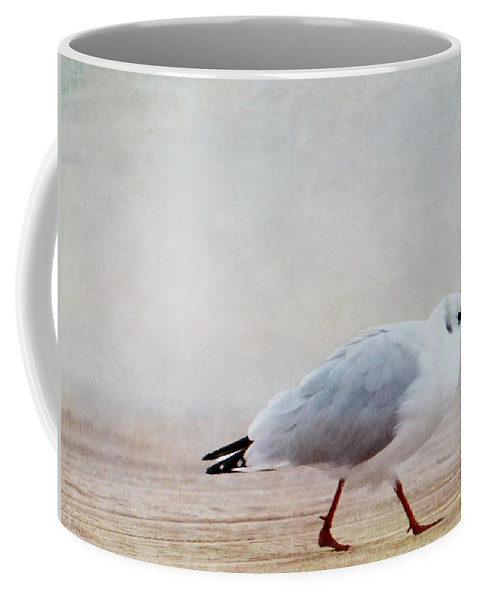 Seagull Coffee Mug featuring the photograph Seagull by Heike Hultsch
