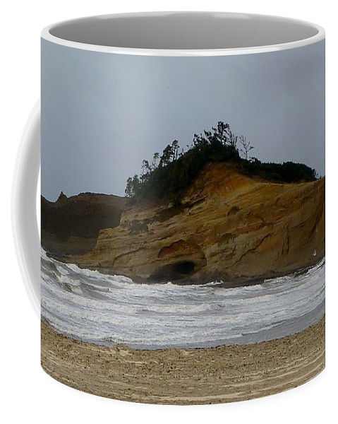 Photograph Coffee Mug featuring the photograph Seascape by Susan Garren