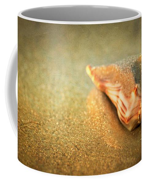 Landscape Coffee Mug featuring the photograph Seashell by Joye Ardyn Durham