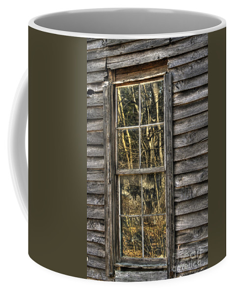North Carolina Coffee Mug featuring the photograph Seasons Past by Benanne Stiens