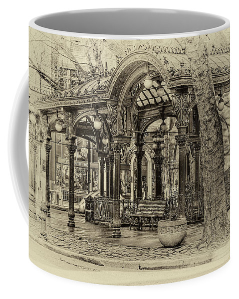 The Pergola Coffee Mug featuring the photograph Seattle's Past by David Patterson