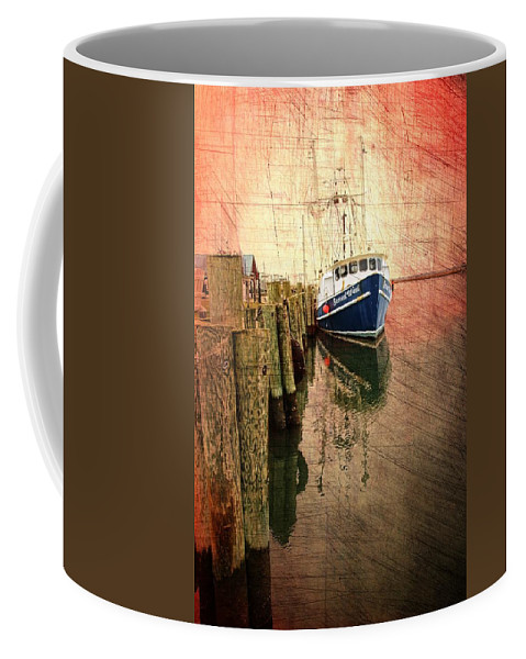 Boat Coffee Mug featuring the photograph Second Wind by Alice Gipson