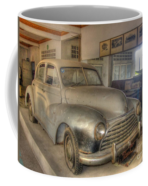 Michelle Meenawong Coffee Mug featuring the photograph Second World War Car by Michelle Meenawong