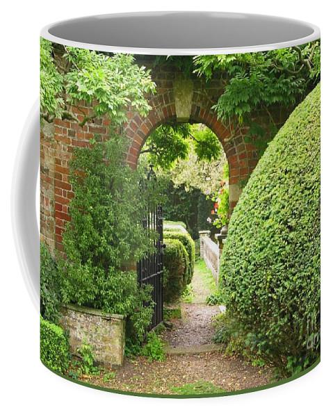 Garden Coffee Mug featuring the photograph Secret English Garden by Ann Horn