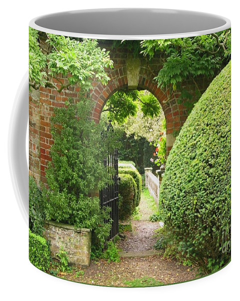 Garden Coffee Mug featuring the photograph Secret English Garden by Ann Horn
