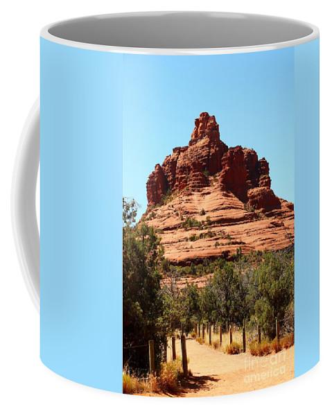 Sedona Coffee Mug featuring the photograph Sedona Bell Rock by Christiane Schulze Art And Photography