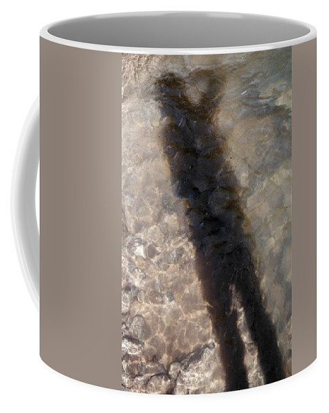 Flow Coffee Mug featuring the photograph Selfportrait Of A Shadow by David Cardona