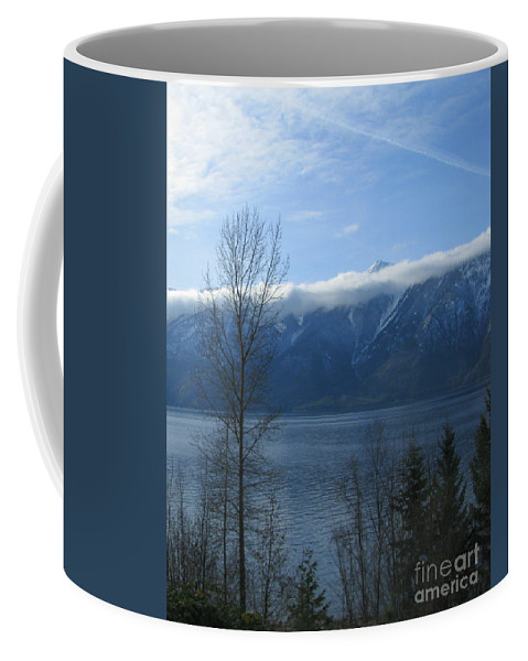 Selkirk Coffee Mug featuring the photograph Selkirks In Fall by Leone Lund