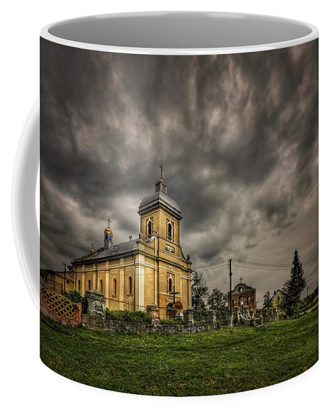 Church Coffee Mug featuring the photograph Send Me An Angel by Evelina Kremsdorf