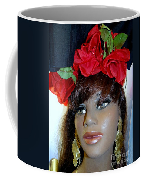 Mannequins Coffee Mug featuring the photograph Senorita by Ed Weidman