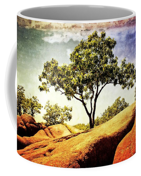 Tree Coffee Mug featuring the photograph Sentinal Tree by Marty Koch