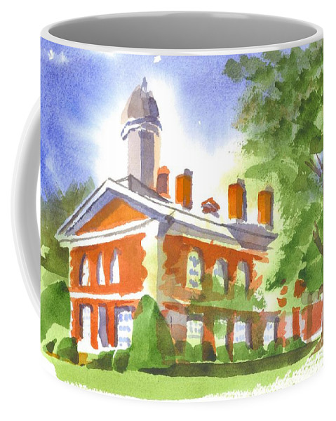 September Afternoon Coffee Mug featuring the painting September Afternoon by Kip DeVore