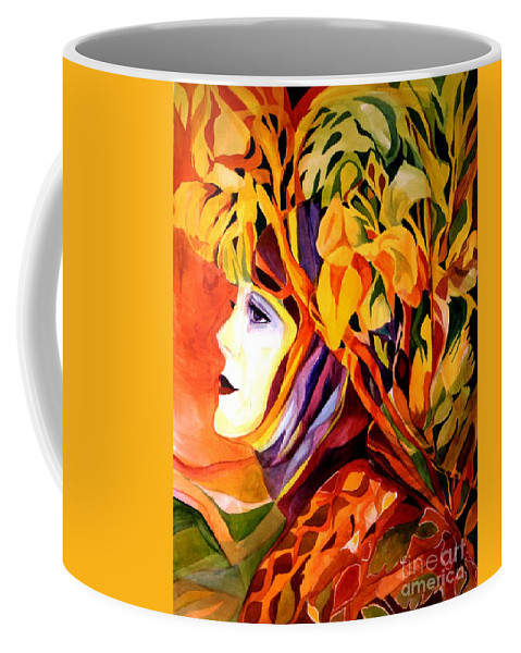 Spring Coffee Mug featuring the painting Serenity by Carolyn LeGrand