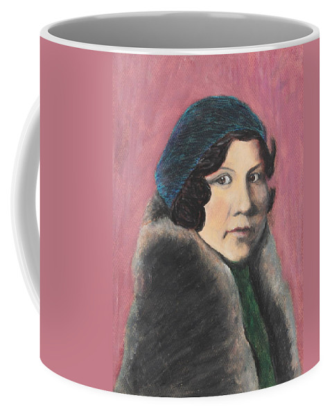 Style Coffee Mug featuring the painting Serenity by Jeanne Fischer
