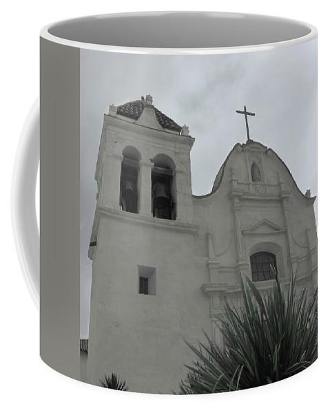 San Carlos Mission Coffee Mug featuring the photograph Serenity by Marianne Jimenez
