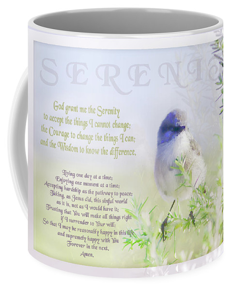 Animals Coffee Mug featuring the photograph Serenity Prayer by Holly Kempe