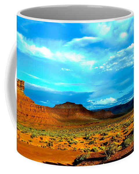 Valley Of The Gods Coffee Mug featuring the photograph Seven Gods II by Robert Bales