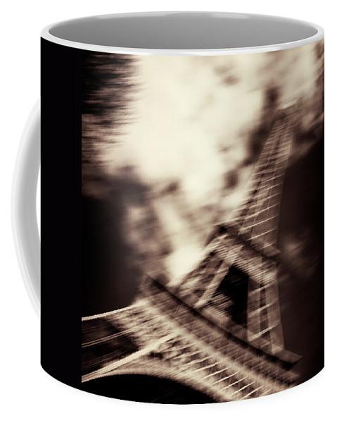 Eiffel Tower Coffee Mug featuring the photograph Shades Of Paris by Dave Bowman