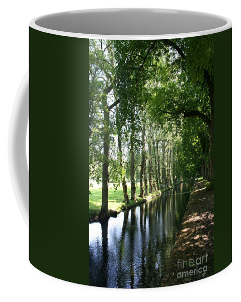 Parkway Coffee Mug featuring the photograph Shady Creek by Christiane Schulze Art And Photography