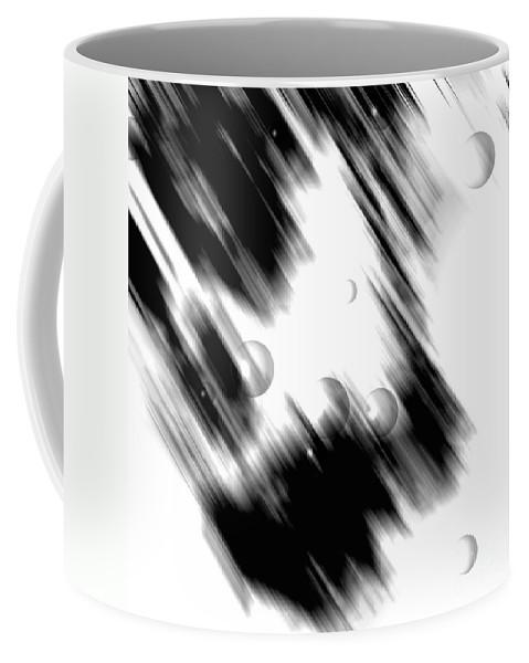 Digital Coffee Mug featuring the digital art Shape Of The Rain by Fei A