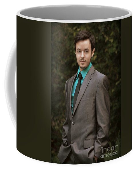 Portrait Coffee Mug featuring the photograph Sharp Dressed Man by Paul Wilford
